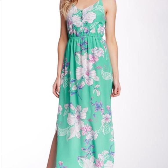 Floral Maxi Dress YUMI KIM